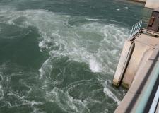الكرعاوي:برفقة مدير الموارد المائية يتابع الحصص المائية في المناطق الزراعية