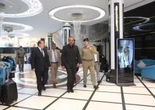 المحافظ يستقبل وزير الداخلية ويبحث معه خطة زيارة الاربعين