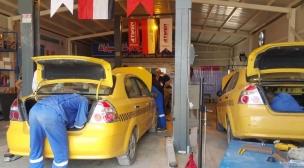 ورشة إضافة منظومات الغاز للسيارات في محافظة النجف الاشرف تستمر بعملها وبوتيرة متصاعدة