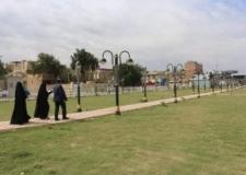بلدية النجف الاشرف تتابع مشاريع الاستثمارية وتقف على نسبة الانجاز لاحد المشاريع الترفيهية