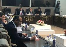 محافظ النجف يحضر اجتماع اللجنة المالية النيابية ويطالب بالإسراع باطلاق التمويل المالي للمحافظات