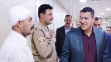النائب الثاني طلال بلال يزور مدينة الصدر الطبية أثناء الجولته الصباحية في النجف الاشرف