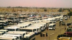 النقل تكمل استعداداتها لإحياء ذكرى استشهاد الامام علي ع بمشاركة أكثر من (5000) مركبة لنقل الزائرين