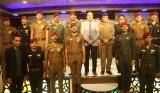 الياسري يحضر حفل تخرج ضباط دورة البناء والتدريب من الكلية العسكرية