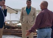 النائب الثاني يتابع اعمال اللجنة العليا المكلفة لدريء خطر السيول في بحر النجف