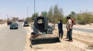 بلدية النجف الاشرف تكثف حملاتها قبيل عيد الفطر المبارك