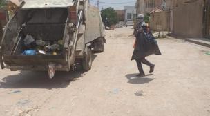 بلدية النجف الاشرف تواصل حملاتها اليومية في المحافظة