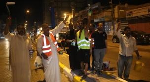 من اجل مدينة اجمل .. بلدية النجف وبالتعاون مع ساكني منطقة الجديدات تطلق حملة لتنظيف شارع المدينة المنورة