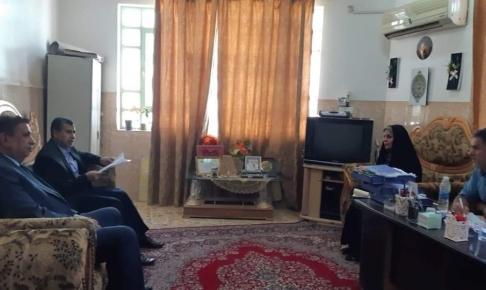 لجنة رعاية الطفولة في النجف تزور معهد النور للمكفوفين