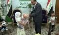 محافظ النجف الاشرف السيد لؤي الياسري يستضيف مؤسسة الأيتام