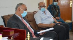 لجنة من وزارة التعليم العالي والبحث العلمي توافق على استحداث الدراسات العليا في جامعة جابر بن حيّان الطبية