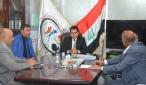 اللجنة الوزارية تبحث ملف توثيق شهداء تظاهرات النجف الاشرف