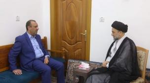 الياسري يزور رئيس ديوان الوقف الشيعي للاطمئنان على صحته