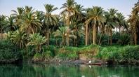 شاطي نهر الفرات في مدينة الكوفة