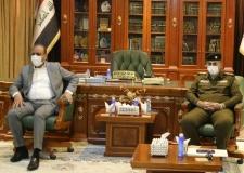 المحافظ يستقبل وفد من مراسيم رئاسة الجمهورية ومكتب رئيس الوزراء ووزارة الخارجية