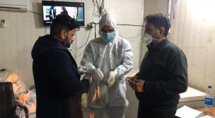 العمل توجه موظفيها كافة للقيام بالأجراءات الوقائية اللازمة لتجنب فايروس كورونا